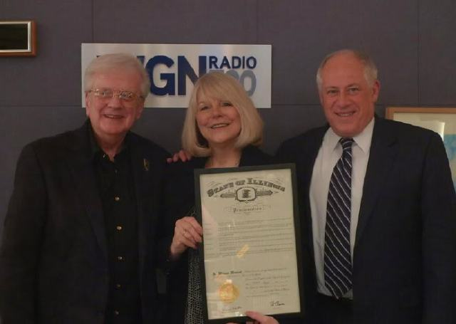 Steve & Johnnie with Illinois Governor, Pat Quinn